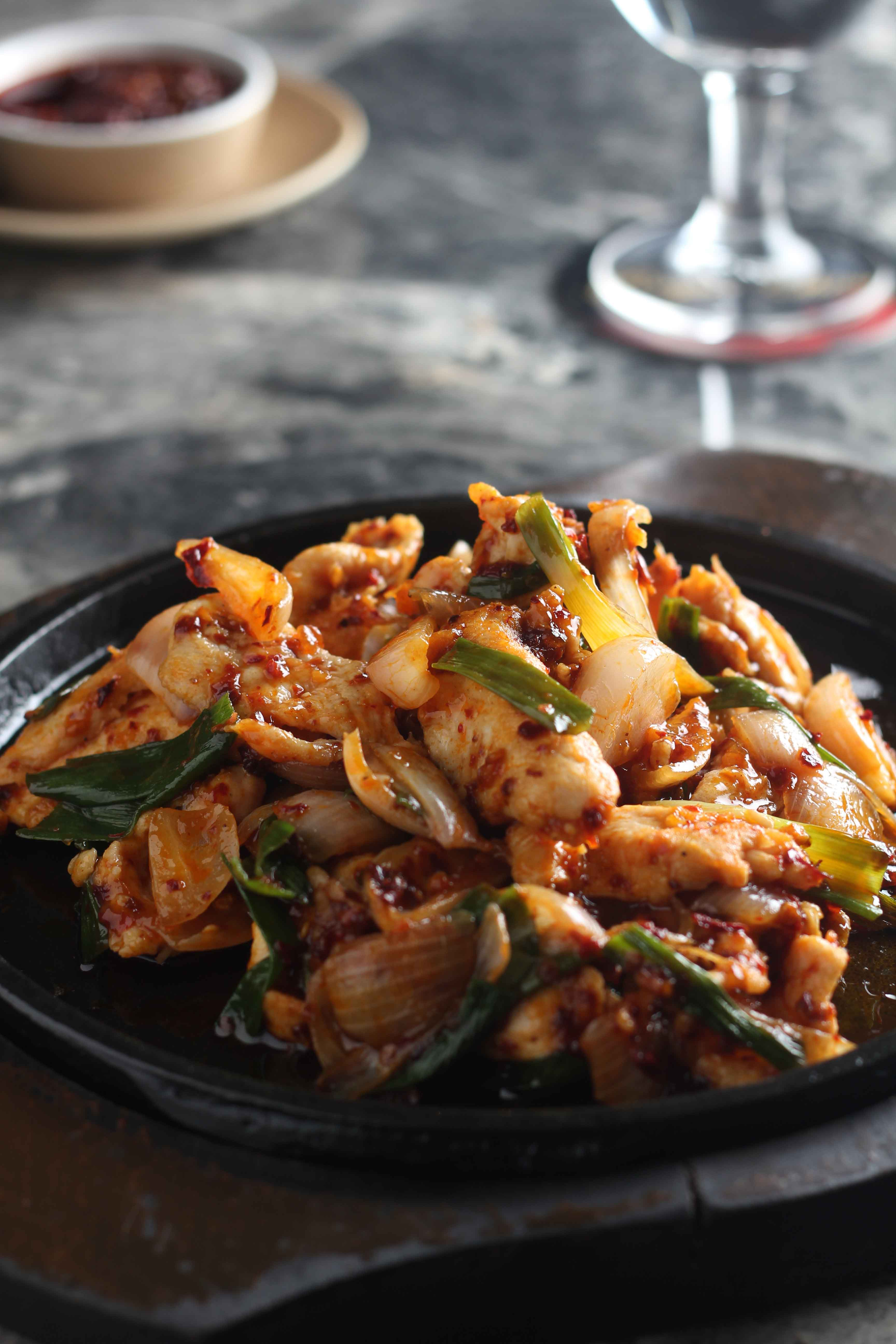 Chicken-in-Chilli-oil-and-Spring-Onion